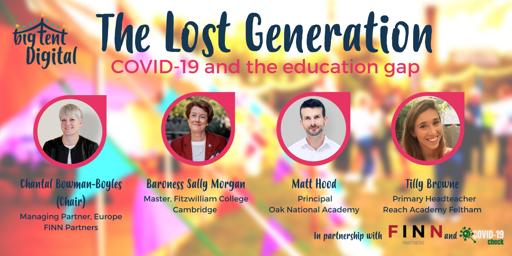 The lost generation: education experts discuss how to avoid a 'lost generation' of UK students