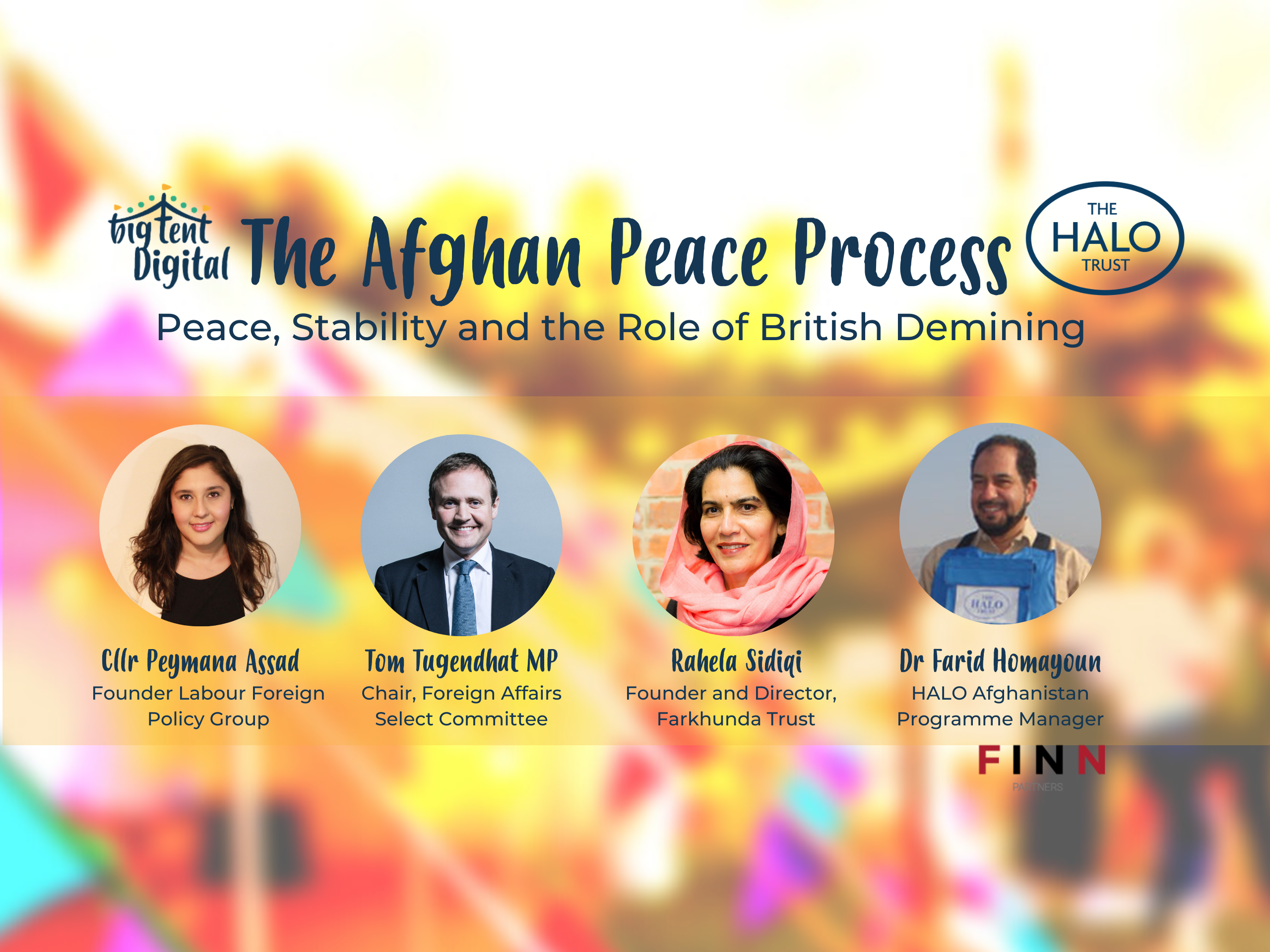 """The Afghan peace process must be must be built upon a foundation of justice and transparency if it is to be sustainable"" says speakers at Big Tent Ideas event"